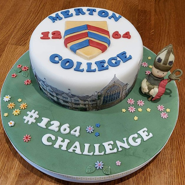 Francesca Lovell-Read's 1264 Challenge-themed cake