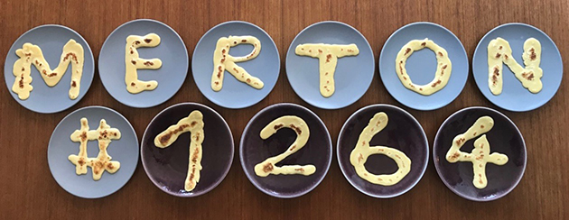#1264challenge-themed pancakes made by Dr Jennifer Altehenger