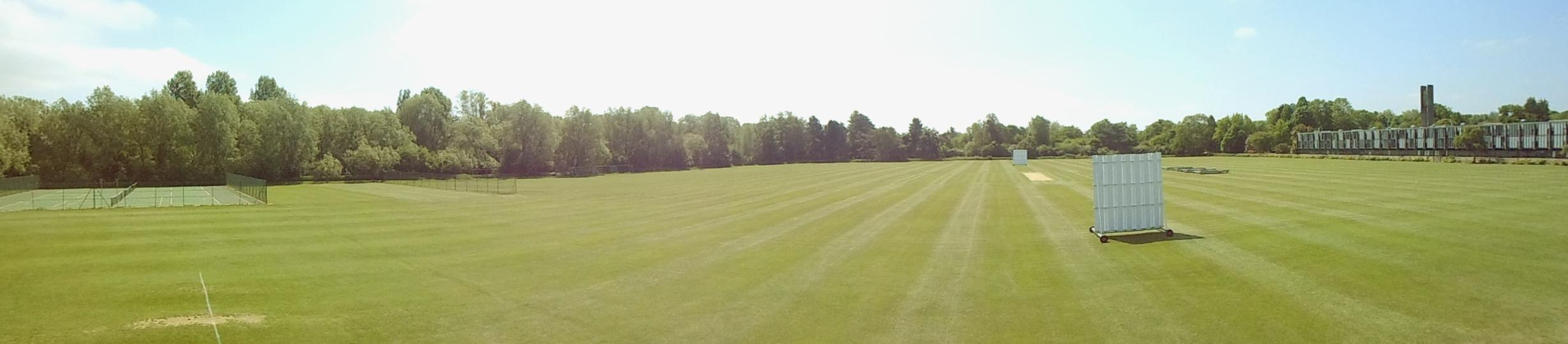 Merton College Playing Fields, Spring 2018