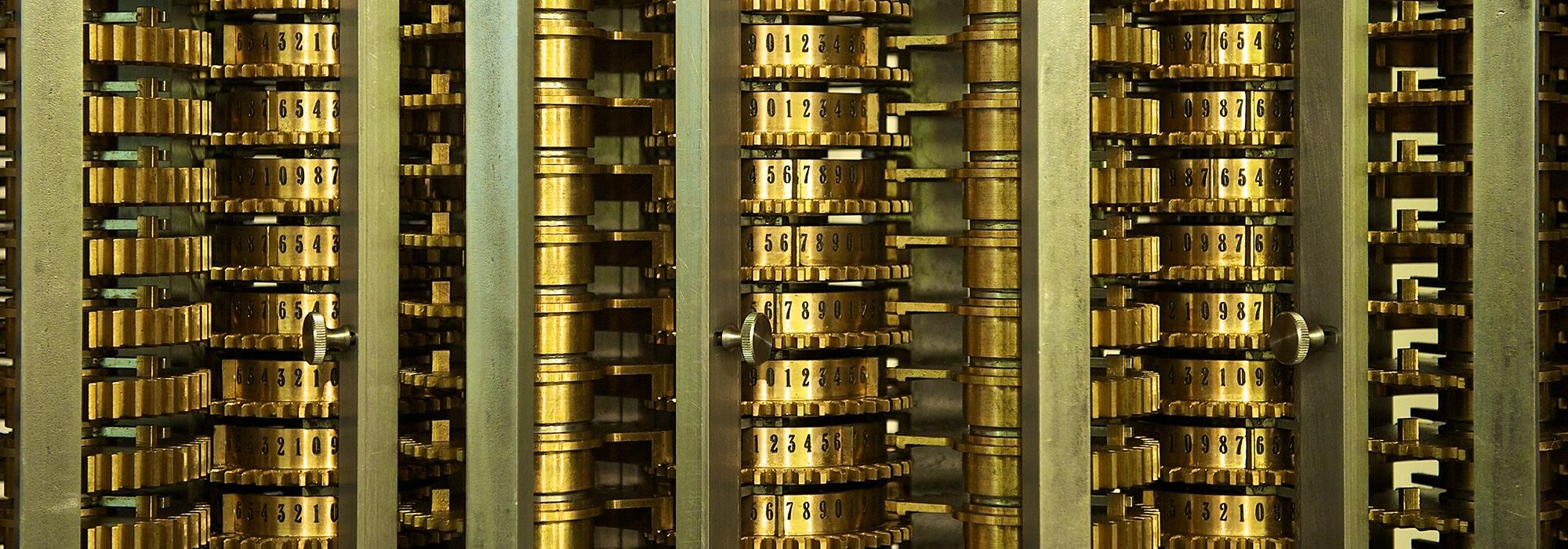 Babbage Difference Engine #2, by Larry Johnson (www.flickr.com/drljohnson) used under CC-BY 2.0 license