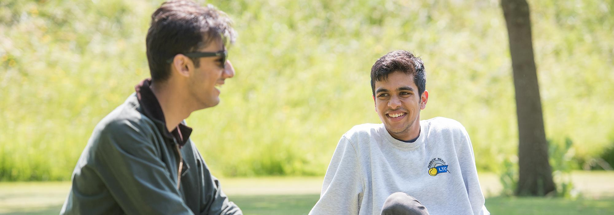Jules Desai and Roshan Dodhia - Photo: © John Cairns - www.johncairns.co.uk
