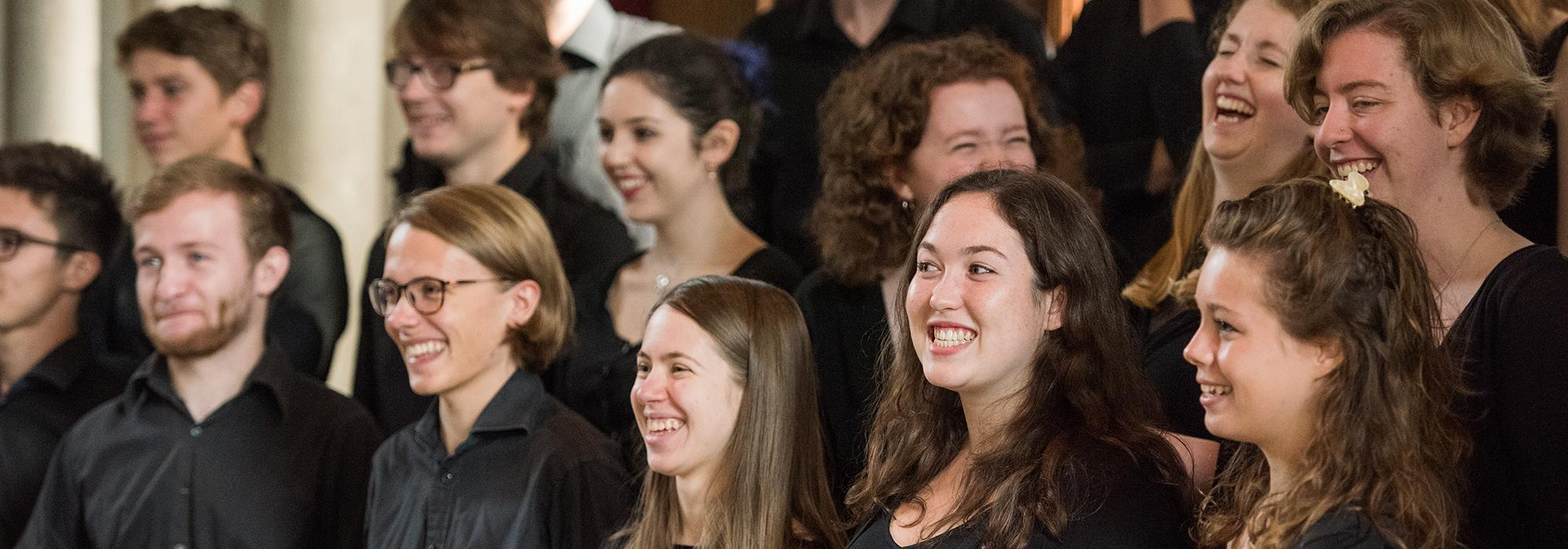 Members of the Choir of Merton College, September 2016 - Photo: © John Cairns - www.johncairns.co.uk