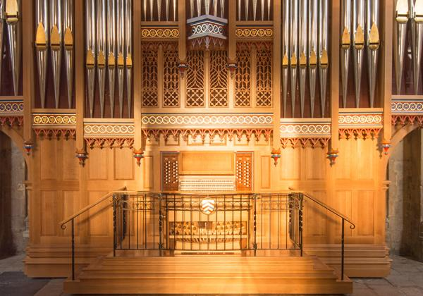The Dobson Organ in Merton College Chapel