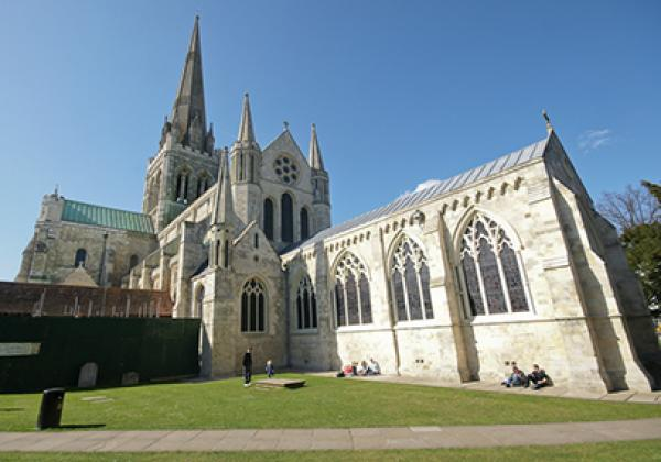 Chichester Cathedral - Photo: © Tom O'Donoghue [CC BY-NC-ND 2.0]