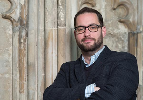 Jonathan Hope, Assistant Director of Music at Gloucester Cathedral
