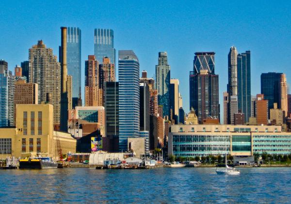 Image of New York City skyline.
