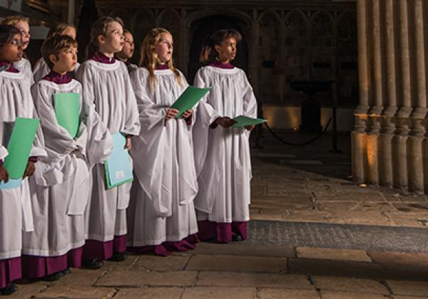 Members of Merton College Girls' Choir in 2016 - Photo: © John Cairns - www.johncairns.co.uk