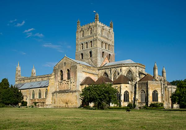 Tewkesbury Abbey - Photo: © Saffron Blaze - www.mackenzie.co (CC BY-SA 3.0)