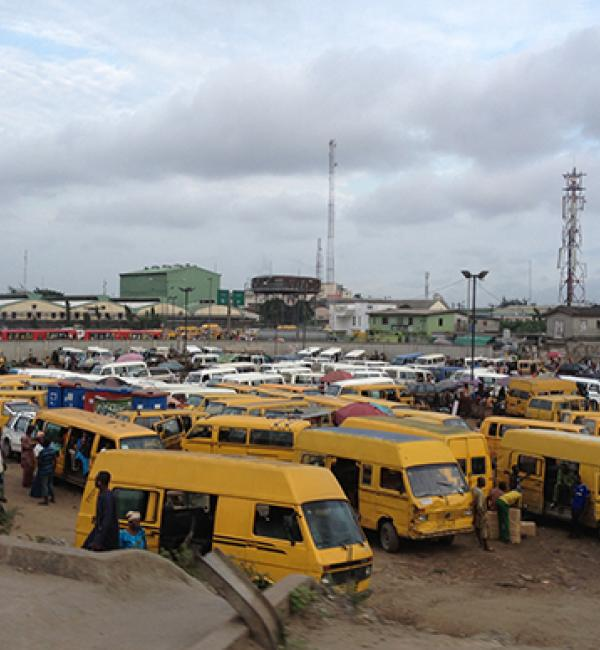 Buses in Lagos