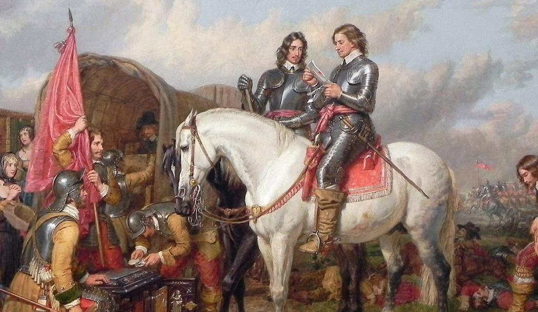 """Cromwell at the Battle of Naseby in 1645"" by Charles Landseer, from the collection of the Alte Nationalgalerie, Berlin, used under CC BY-NC-SA license"