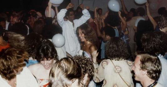 Clubbers at Studio 54, 1978 - Photo: © MediaPunch Inc/Alamy Stock Photo