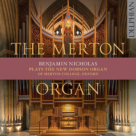 The Merton Organ - CD cover