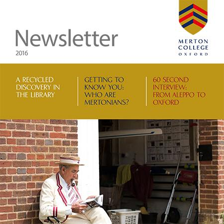 Merton Newsletter 2016