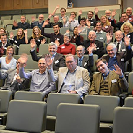 Some of the participants at the Mathematics Reunion Day