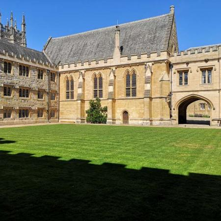 Fellows' Quad and the Fitzjames Arch