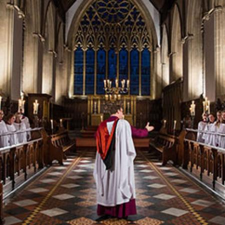 The Choir of Merton College, Oxford, in 2015 - Photo: © John Cairns - www.johncairns.co.uk